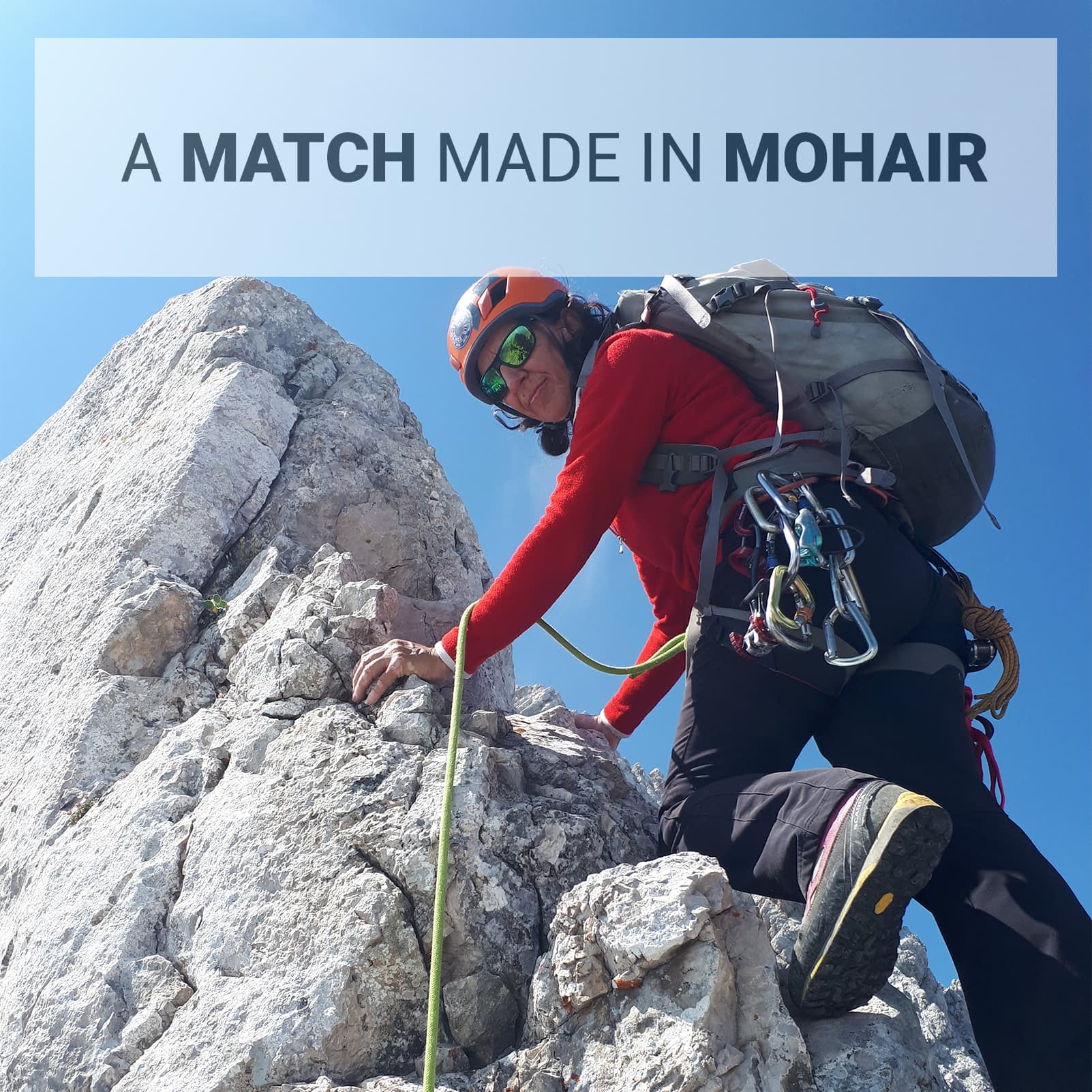 Match made in Mohair Marija