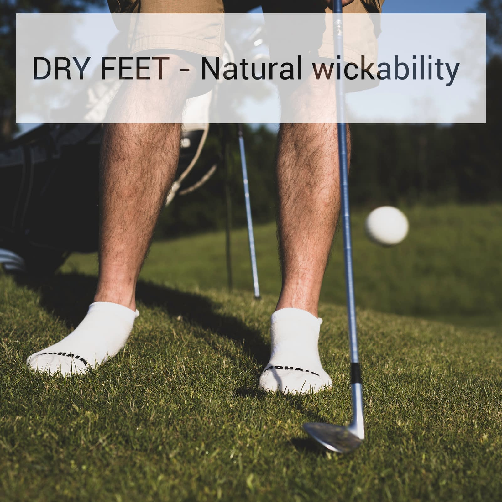 Dry Feet wickability